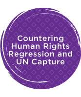 Countering Human Rights Regression and UN Capture